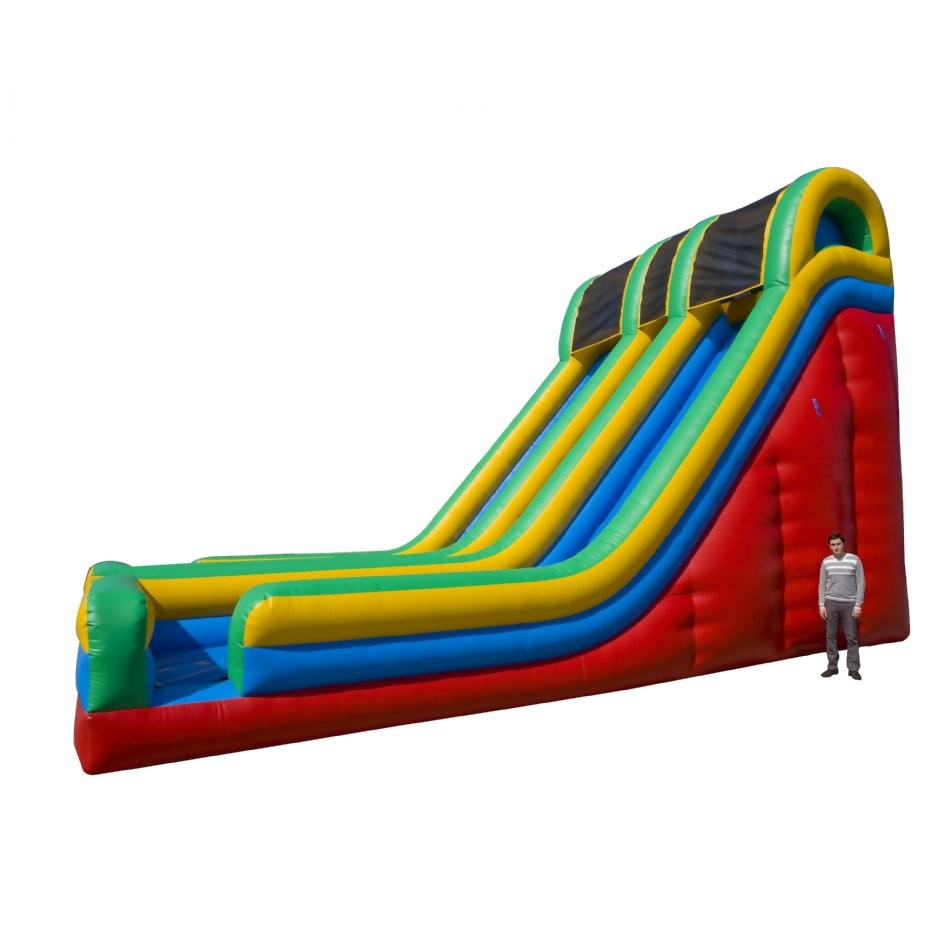 24 Double Lane Inflatable Slide - 2