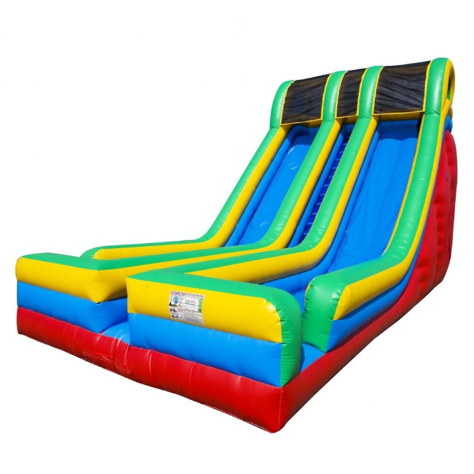 24 Double Lane Inflatable Slide - 4
