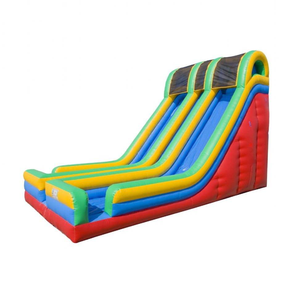 24 Double Lane Inflatable Slide