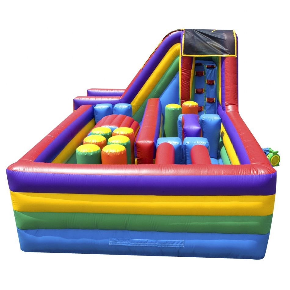 360 Inflatable Obstacle Course - 2