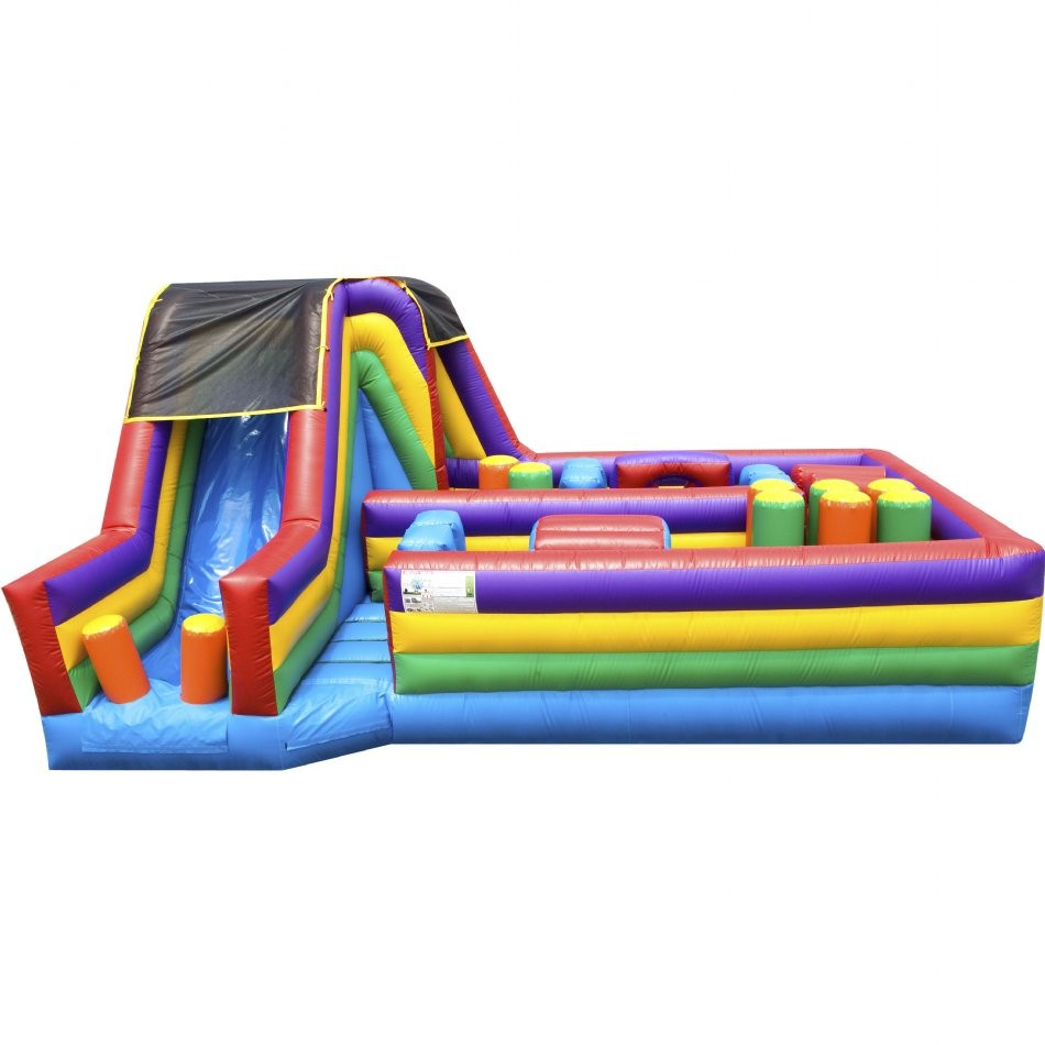 360 Inflatable Obstacle Course - 3