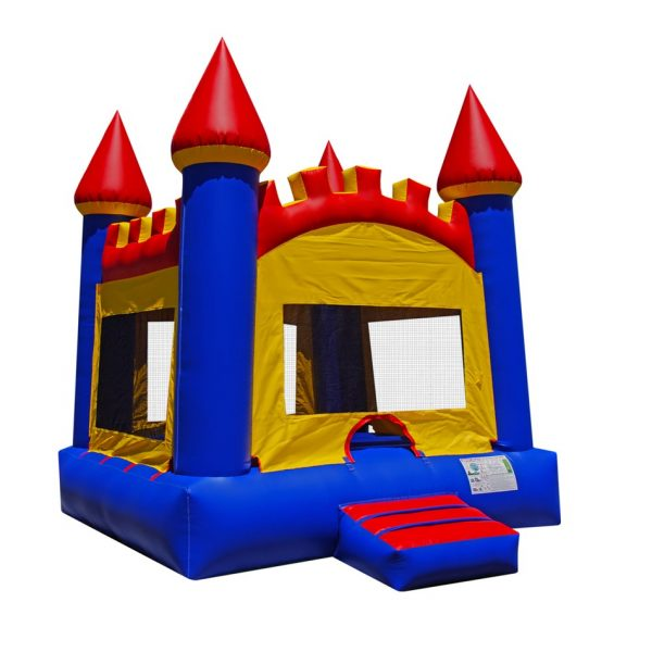 Arched Castle Bounce House 2
